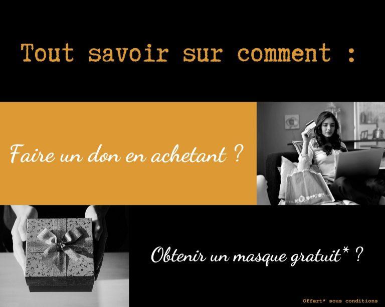 Read more about the article 1 article acheté = 1 don pour secourir les sans abris (Offre terminée)