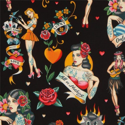 retro-women-fabric-with-roses-by-Alexander-Henry-in-black-232964-1